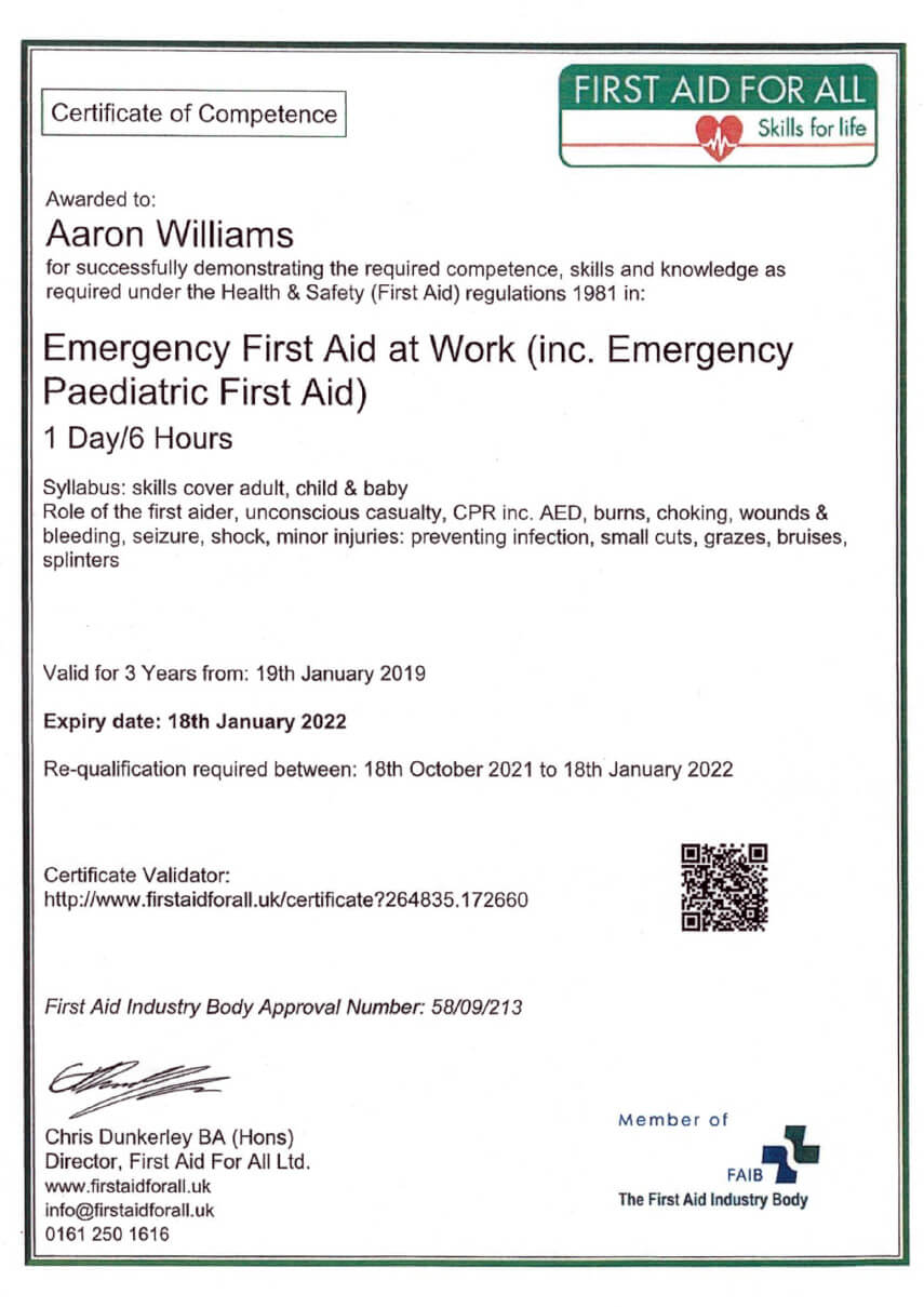 certificate-of-competence-emergency-first-aid-at-work